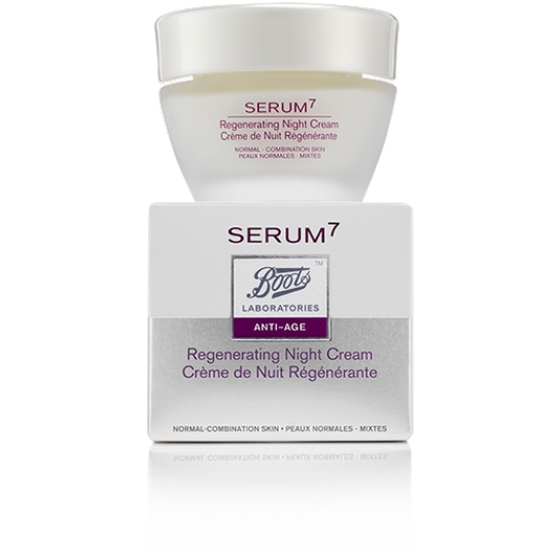 Serum7 Creme Noite Pele Normal/Mista 50 ml