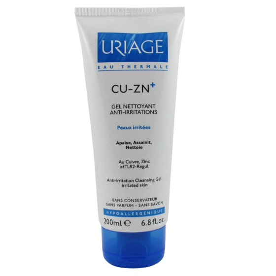 Uriage Cu Zn + Gel Limpeza 200 ml