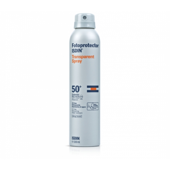 Fotoprotector Isdin Spray Transparent Fps30 200 ml