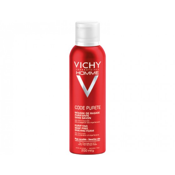 Vichy Code Purete Mouss Barbear Purif 200ml
