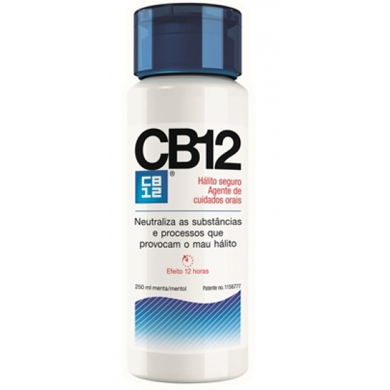 Cb12 Sol Oral Menta/Mentol 250 ml