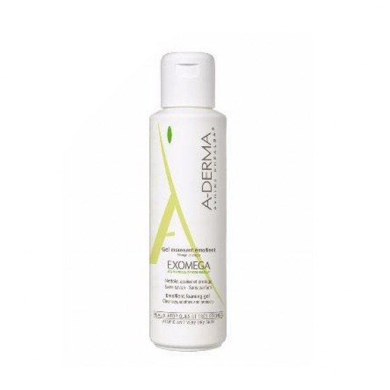 A-Derma Exomega Gel Moussan 500ml+Desc