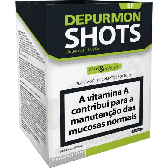Depurmon Shots Sol Amp 25ml X 12