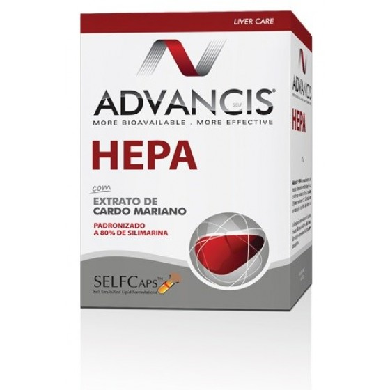 Advancis  Cáps Hepa X 60